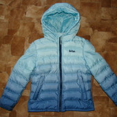 Оч.крутая куртка градиент Lee Cooper 7- 8 лет отл.состояние!