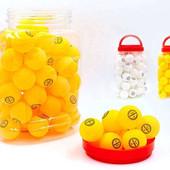 Набор мячей для настольного тенниса Champion 2708 (шарики для настольного тенниса): 60 мячей