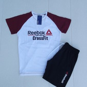 Комплект футболка и шорты Reebok