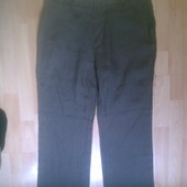 Фирменные льняные брюки штаны 34-36 р.