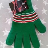 Красивые вязаные перчатки Польша, взрослый размер