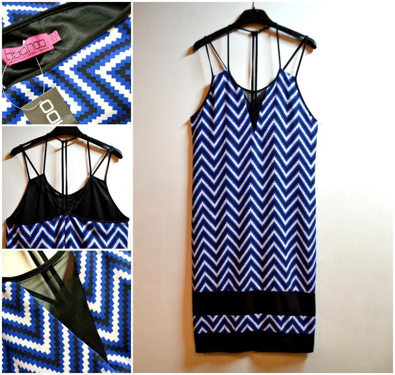 Красивое летнее платье с красивой спинкой в узор фото №1