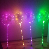 Воздушный шар бобо с led подсветкой