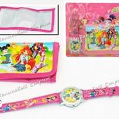 Аксессуары для девочек Winx детские часы, кошелек, 3 вида