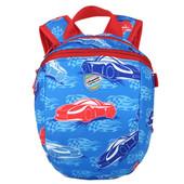 "Детский рюкзак ""Тачки"", синий."
