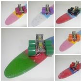 Супер цена Penny board скейт Пенни борд пениборд Градиент Живые фото