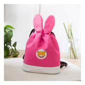 """Рюкзак- мешок детский """"Зайка"""", розовый"""