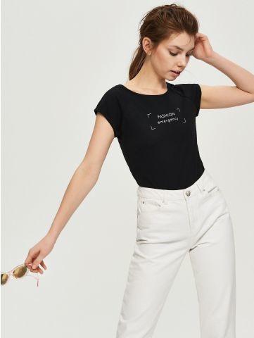 b5d4a1c7b009ea 17-21 женская футболка sinsay, цена 124 грн - купить Футболки и ...