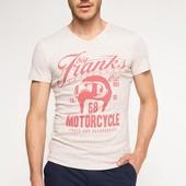 2-43 Мужская футболка DeFacto одежда Турция чоловіча футболка майка мужская одежда