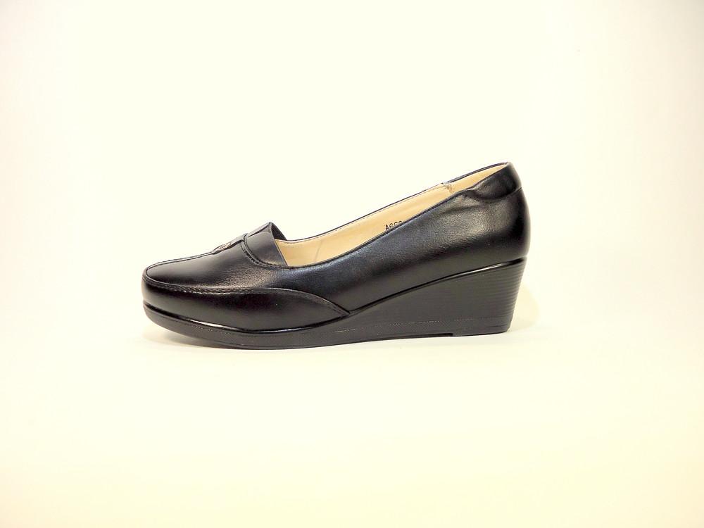 Женские туфли на танкетке. размер 36-41. фото №1