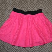 новая ажурная юбка YD Primark на 7-8 лет рост 122-128 см Англия