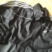 Фирменная водонепроницаемая штормовка Adidas р.48-50