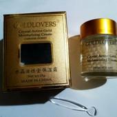 увлажняющий,укрепляющий питательный крем для лица и шеи с активными золотыми кристаллами,58 грамм