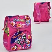 Рюкзак школьный N 00117 2 кармана, спинка ортопедическая