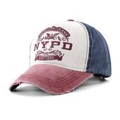 Стильная модная бейсболка NYPD универсальный размер винтажный стиль