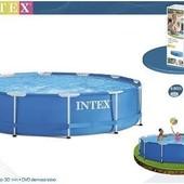 Каркасный бассейн 366 х 76 см Intex 28210