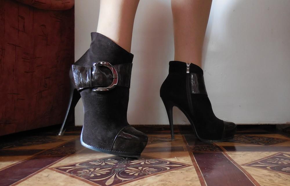 Ботинки на платформе, осень фото №1