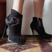 Ботинки на платформе, осень