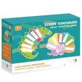 Настольная игра Изучаем цвета: полосатые динозавры Dodo
