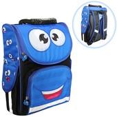 Школьный ортопедический каркасный рюкзак