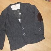 Стильний жакет , пиджак с налокотниками rebel