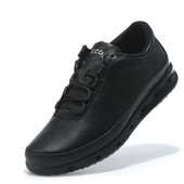 Ботинки Ecco Color Black , р. 41-46, кожа, код vm-928