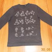 Фирменный свитшот для подростка, размер L