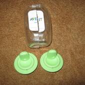Жесткий носик Avent , с клапаном, от 12 месяцев, 2 шт