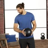 Синяя спортивная футболка размер М, 28-41 Ю
