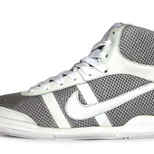 Кроссовки мужские Nike реплика Натуральная кожа + сетка (Е-108ср)