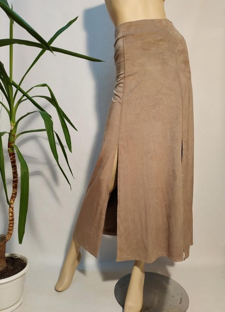 S новая женская юбка под замш фото №1