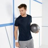 Мужская футболка р.М 48-50 Crivit Sport Германия синяя