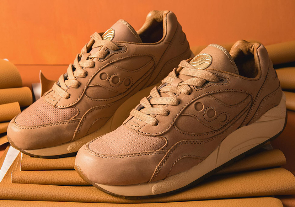 Кроссовки saucony originals g9 shadow 6000 veg tan pack фото №1