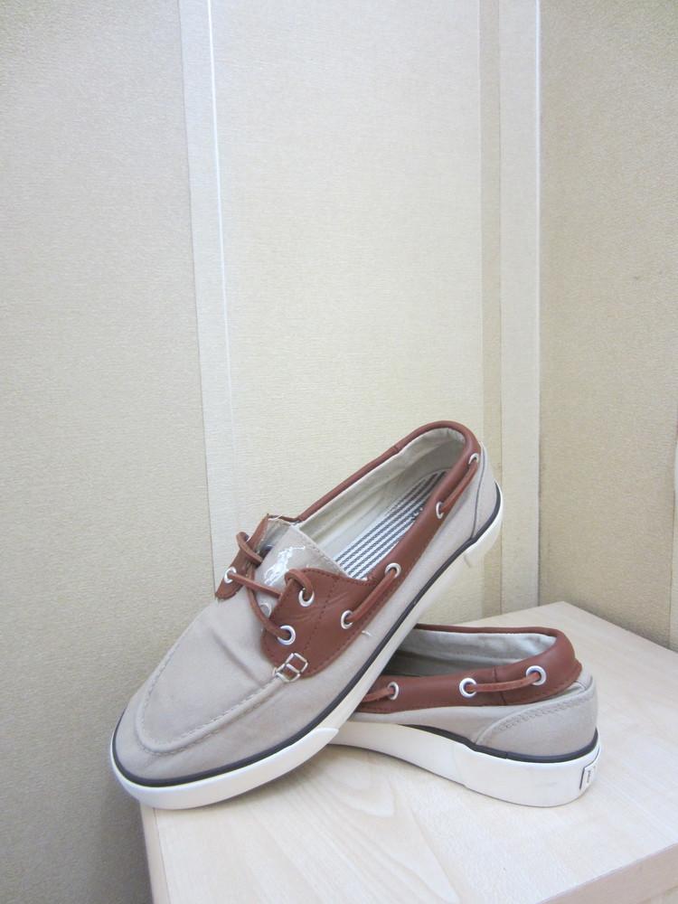 Мокасины кеды Polo Ralph Lauren, оригинал, р.41,5 фото №1