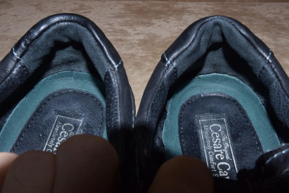 Туфли летние кожаные cesare cave. оригинал. 45 р./29 см. фото №5