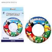 Надувной круг 56см Angry Birds - Bestway 96102