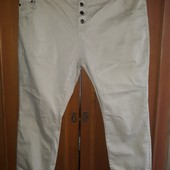 Укороченные штанишки-джинсы большого размера 54, 56