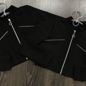 2 цвета Пиджак укороченный 134-158см для девочки школьный жакет в  школу школьная форма  болеро