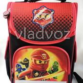 Школьный каркасный рюкзак Smile для мальчиков Ninjago