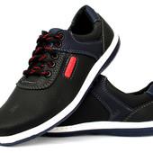 Туфли мужские спортивные в стиле Коламбия (КЛС-2чсб)