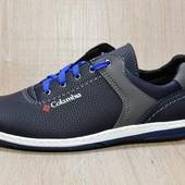 Стильные кроссовки для мужчин синего цвета - Украина (БТ-26nvy)