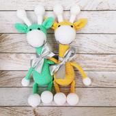 Игрушки Жирафы ручной работы