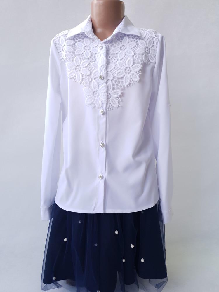 Блузки для девочек 122-146 фото №1