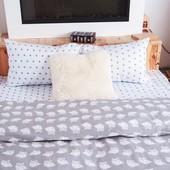 Купить постельное белье из  Совами,любой размер,100 % хлопок