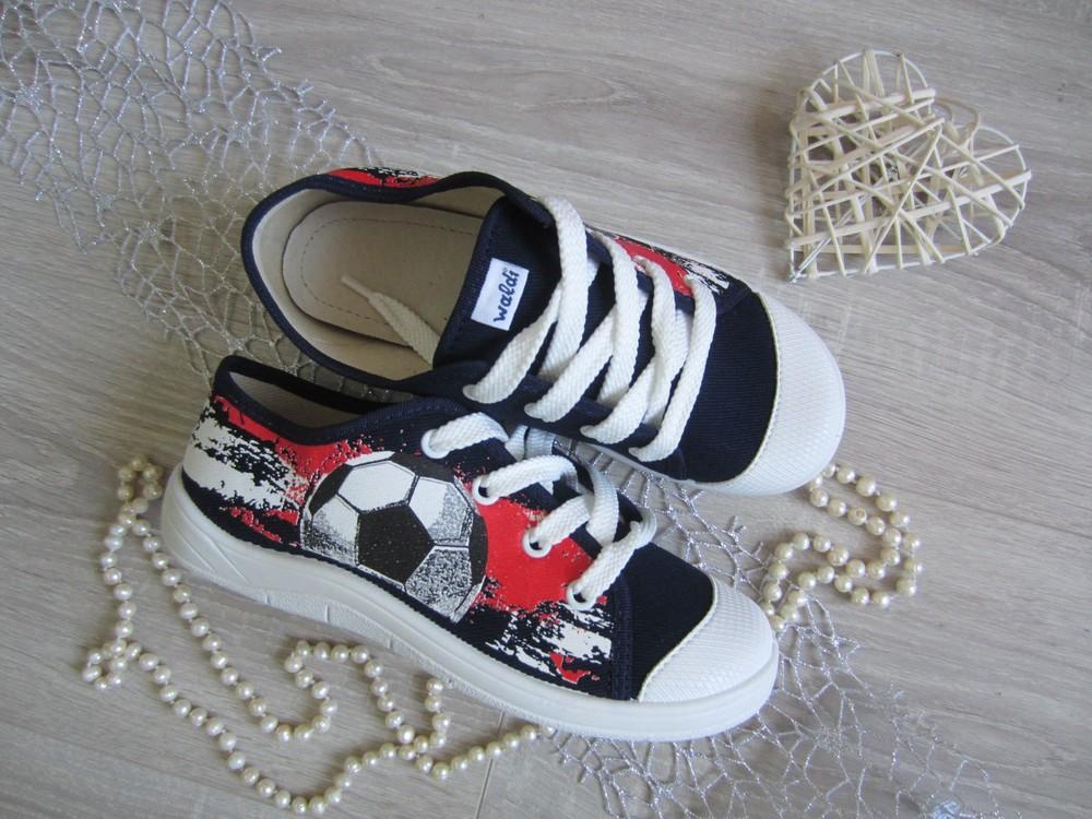 Sale текстильные кеды на шнуровке с защитой носка 30 р на 19 см  фото №1
