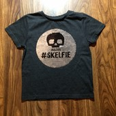 Крутая футболка Rebel на 5-6 л