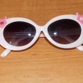 Фирменные очки для девочки, 2-4 года