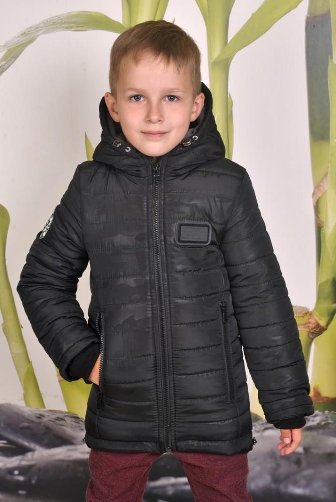 Зимняя куртка-парка на мальчика фото №1