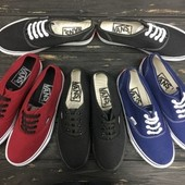 Кеды • Кеди  •Вансы  •Ванс • Ванси • vans authentic размеры 35 - 46!
