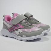 кроссовки для девочки  размеры 26-31